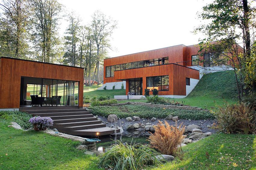Ajatu modernism. Lihtsad jooned ja vormid, aegumatud materjalid.